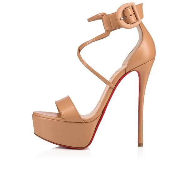 Christian Louboutin Choca sandals #ChristianLouboutin