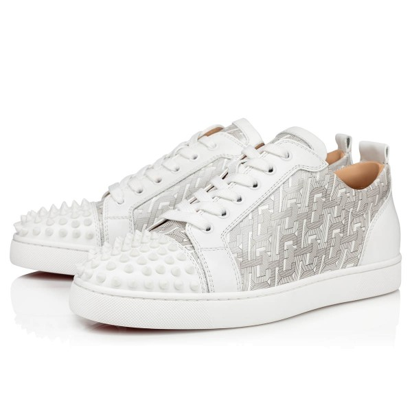 Red Bottoms Low Tops White Patent Cl Shoes