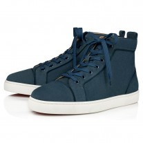Christian Louboutin Louis Orlato High Tops TEMPETE VEAU VELOURS Shoes