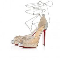 Christian Louboutin Maia Labella Alta pumps SILVER SPECCHIO/LAMINATO Shoes