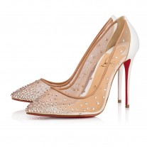 Christian Louboutin Follies Strass pumps Version Snow Strass Shoes