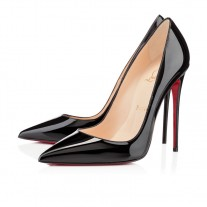 Christian Louboutin So Kate pumps Black Patent Leather Shoes