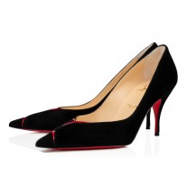 Christian Louboutin Cl Pump Evening BLACK/LOUBI VEAU VELOURS Shoes