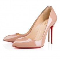 Christian Louboutin Corneille pumps Nude Patent Leather Shoes