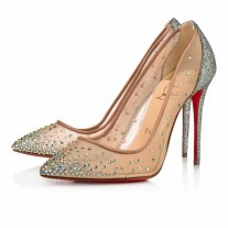 Christian Louboutin Follies Strass pumps Version Vosges Glitter Mini Shoes