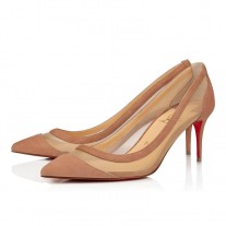 Christian Louboutin Galativi Evening Version Courtisane Suede Shoes