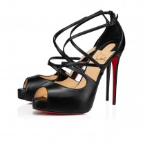 Christian Louboutin Holly Alta sandals Black NAPPA Shoes