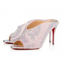 Christian Louboutin Iced Bear Evening Eglantine/Ab Strass Shoes