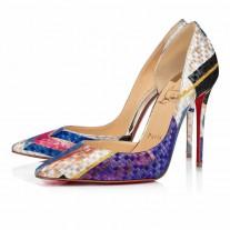 Christian Louboutin Iriza pumps Multicolored Lurex Modernist Shoes