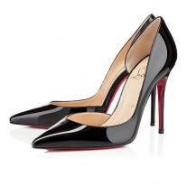 Christian Louboutin Iriza pumps Black Patent Leather Shoes