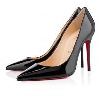 Christian Louboutin Kate pumps Black Patent Leather Shoes