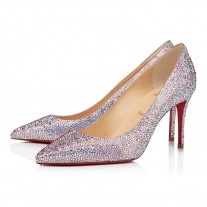 Christian Louboutin Kate Strass pumps Aurore Boreale Strass Shoes