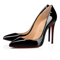 Christian Louboutin Pigalle Follies pumps Black Patent Leather Shoes
