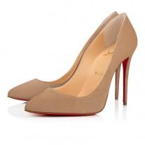 Christian Louboutin Pigalle Follies pumps Nocciola Suede Shoes