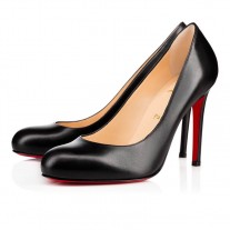 Christian Louboutin Simple pumps Black Leather Shoes