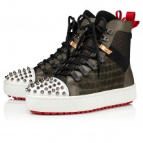 Christian Louboutin Smartic Ankle Boots BOSCO Leather Shoes