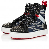 Christian Louboutin Smartic Ankle Boots Version Multi Mesh Shoes