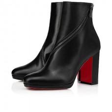 Christian Louboutin Birgitta red Bottoms BLACK CALF Shoes