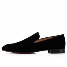 Christian Louboutin Dandelion red Bottoms Black Velve Shoes