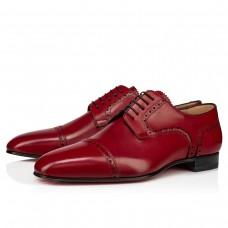 Christian Louboutin Eygeny Derby FLAMENCO CALF Shoes