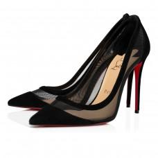 Christian Louboutin Galativi Evening BLACK VEAU VELOURS Shoes