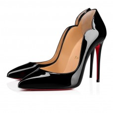 Christian Louboutin Hot Chick pumps Black Patent Leather Shoes