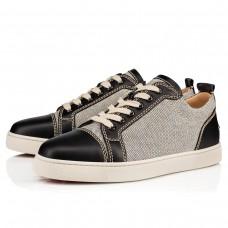 Christian Louboutin Rantulow Orlato Low Tops Version Black Granariso Shoes