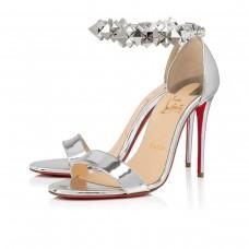 Christian Louboutin Planetava platforms SILVER SPECCHIO/LAMINATO Shoes